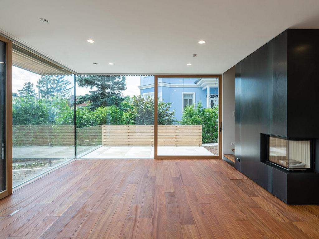 Niedrigenergiewohnhaus - Holz Alu
